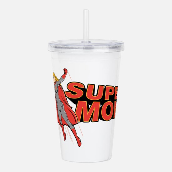 Super Mom Acrylic Double-wall Tumbler