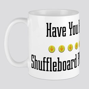 Hugged Shuffleboard Player Mug