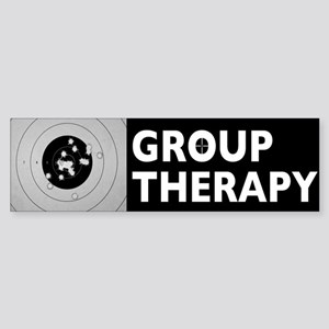 Group Therapy Sticker (Bumper)