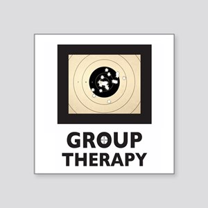 "Group Therapy Square Sticker 3"" X 3"""