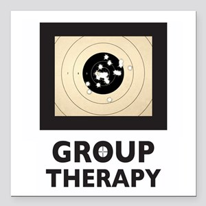 """Group Therapy Square Car Magnet 3"""" X 3"""""""