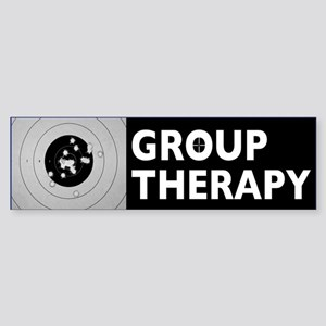 Group Therapy (bumper) Bumper Sticker
