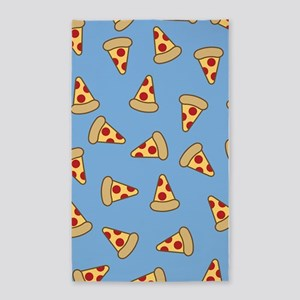 Cute Pizza Pattern 3'x5' Area Rug