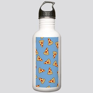 Cute Pizza Pattern Water Bottle