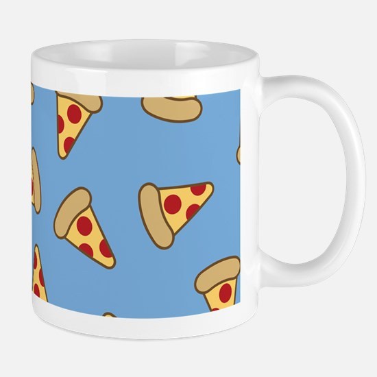 Cute Pizza Pattern Mugs