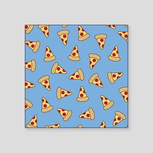 Cute Pizza Pattern Sticker