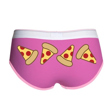 Cute Pizza Slice Women's Boy Brief