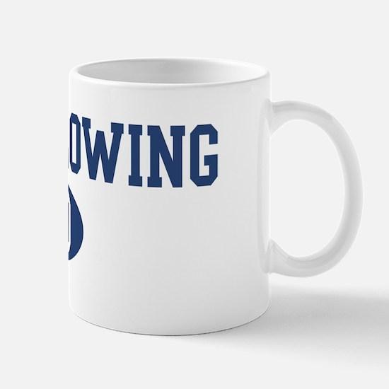 Glass Blowing dad Mug