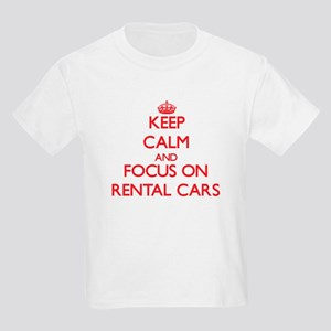 Keep Calm and focus on Rental Cars T-Shirt