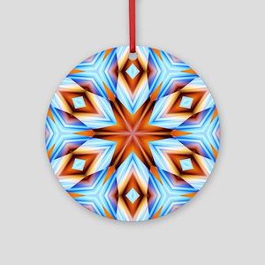 Southwestern geometric Ornament (Round)