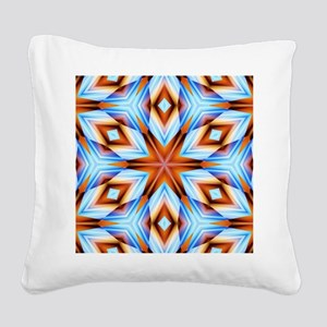 Southwestern geometric Square Canvas Pillow