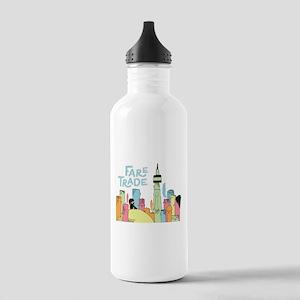 Fare Trade Logo Water Bottle