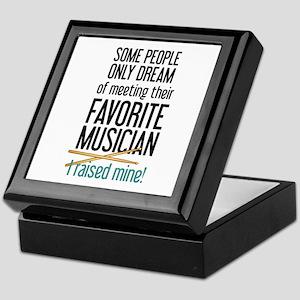 Meeting Musicians Keepsake Box