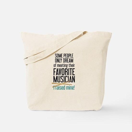 Meeting Musicians Tote Bag