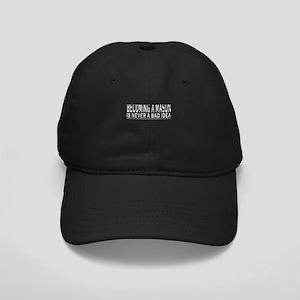 Becoming A Mason Shirt Freema Black Cap with Patch