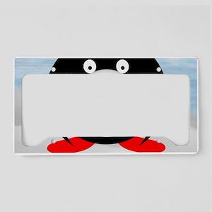 Little Fat Penguin License Plate Holder