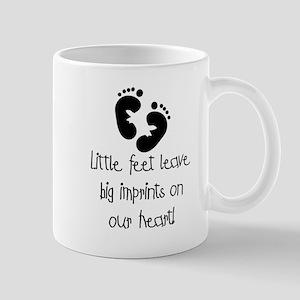 Baby Footprints Mug