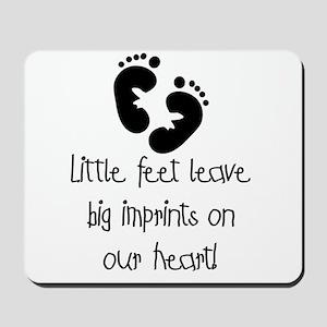 Baby Footprints Mousepad