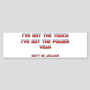 The Touch Bumper Sticker