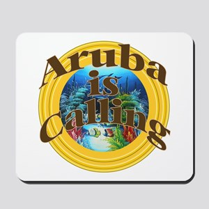 Aruba is Calling Mousepad