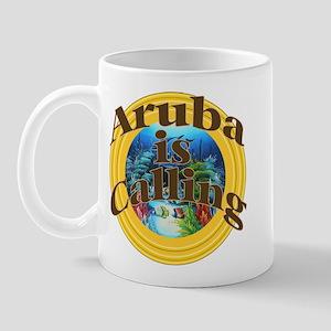 Aruba is Calling Mug