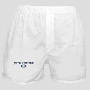 Metal Detecting dad Boxer Shorts