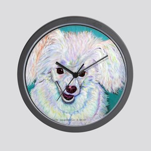 Powder Puff Wall Clock