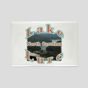Lake Lure Rectangle Magnet