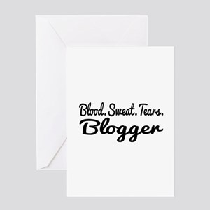 Blogger Greeting Card