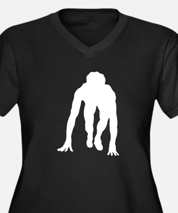 Runner Crouched Plus Size T-Shirt