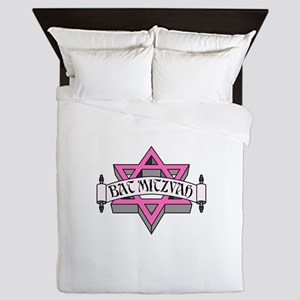 Mitzvah with Pink scroll & Star of David Queen