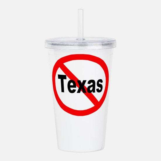 texas.jpg Acrylic Double-wall Tumbler