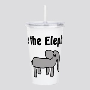Save the Elephants Acrylic Double-wall Tumbler