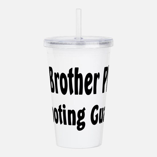 Cute Big brother basketball Acrylic Double-wall Tumbler