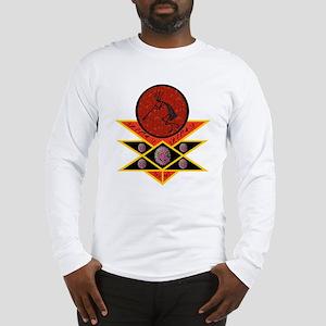 Kokopelli Embracing Peace Long Sleeve T-Shirt