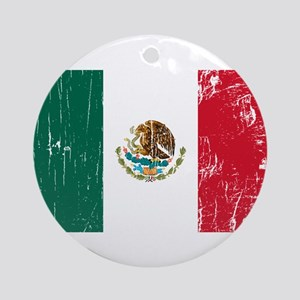 Vintage Mexico Ornament (Round)