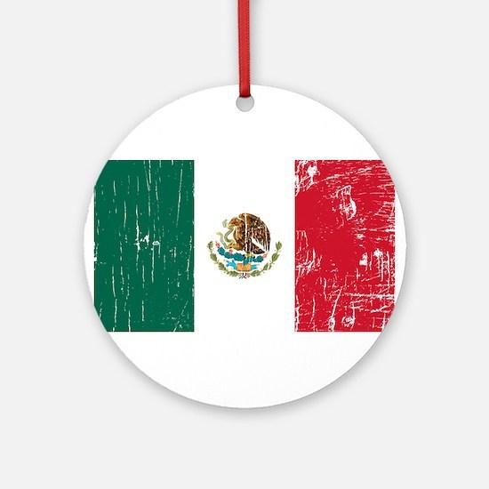 Vintage Mexico Ornament (Round)