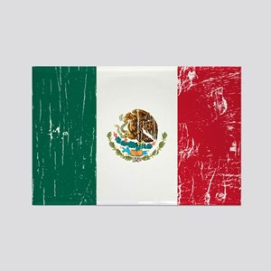 Vintage Mexico Rectangle Magnet