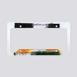 Shalom License Plate Holder