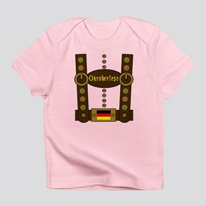 Oktoberfest Lederhosen Funny Infant T-Shirt