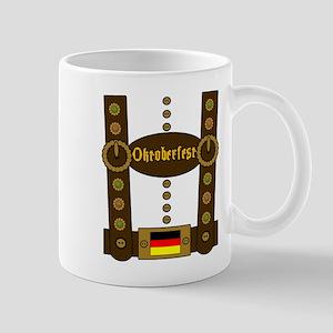 Oktoberfest Lederhosen Funny Mug