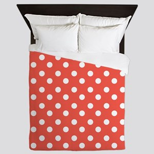 polka dots pattern Queen Duvet