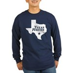 Texas Forever (White - Cutout Ltrs) Long Sleeve Da