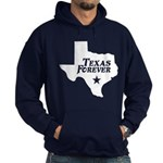 Texas Forever (White - Cutout Ltrs) Hoodie (dark)