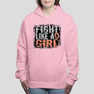 Licensed Fight Like a Girl 31.8 Uterine Sweatshirt