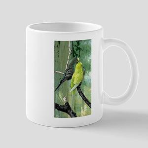 Budgie Art Mugs