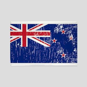Vintage New Zealand Rectangle Magnet