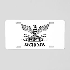 Roman Eagle 13 Legion Ii Aluminum License Plate