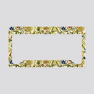 Elizabethan Swirl Embroideries License Plate Holde