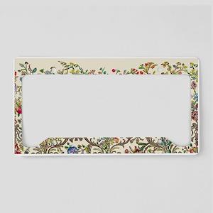 Rococo Court Mantua License Plate Holder